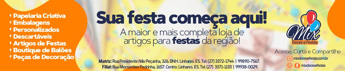 Mix Doces e Festas - Achei Linhares Guia Comercial