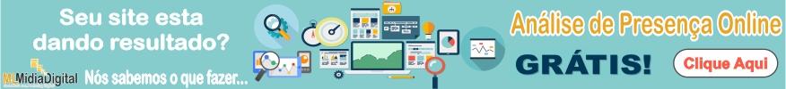 Análise de Presença online Grátis ML Mídia Digital e Consultoria