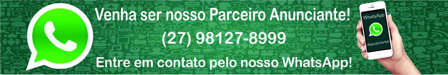 Venha ser nosso Parceiro Anunciante, entre em contato agora pelo nosso Whatsapp