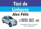 Táxi de Linhares - Alex Félix