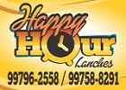Happy Hour Lanches - Hambúrguer