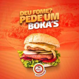 Bokas Lanches Hambúrguer